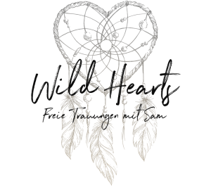 Freie Trauungen´mit Sam, Wild Hearts, schwarz, transparent